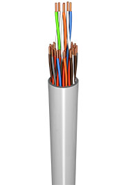 PVC Insulated Telecom Cable IEC 60189 , VDE 0815
